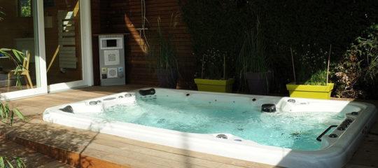 maintenance de spa de nage