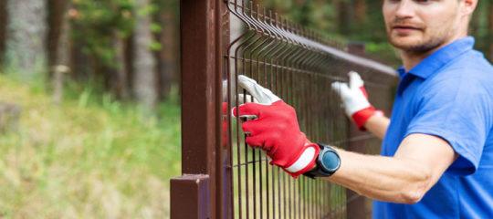 panneaux clôture