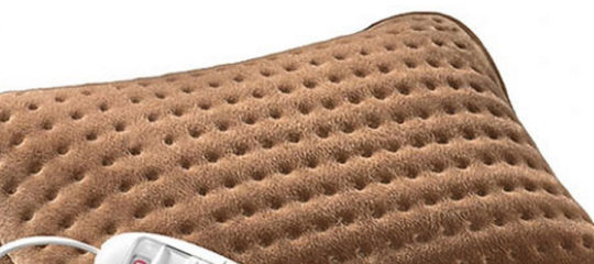 coussins chauffants
